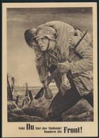Militaria Generalgouvernement 2 Weltkrieg NSDAP Ansichtskarte Soldaten Front  - Germany