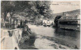 46 FIGEAC - Promenade Et Bords Du Célé - Figeac