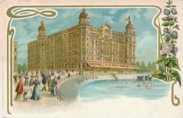 CPA - Belgique - Oostende - Ostende - Hôtel Continental - Oostende