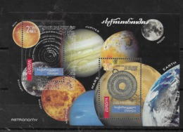 Hoja Bloque De Georgia Nº Yvert HB-45 ** ASTRONOMIA (ASTRONOMY) - Georgia