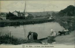 21 DIJON / Le Canal - Quai Nicolas Rollin / Carte Glacée - Dijon