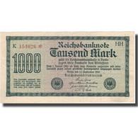 Billet, Allemagne, 1000 Mark, 1922, 1922-09-15, KM:76c, SUP+ - [ 3] 1918-1933 : Repubblica  Di Weimar