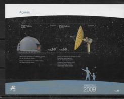 Hoja Bloque De Azores Nº Yvert HB-41 ** ASTRONOMIA (ASTRONOMY) - Blocks & Sheetlets