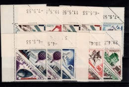 Monaco - YV 453 à 472 N** Luxe Petits Coins Dates (sauf 1 , Numero De Feuille) Moyens De Transport Cote 150+ Euros - Monaco