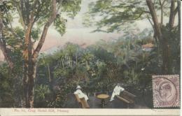 Crag Hotel Hill , PENANG , CPA ANIMEE , 1906 - Malaysia