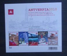 BELGIE  2008   Blok  153  Antverpia 2010    Postfris **   CW  15,00 - Blocs 1962-....