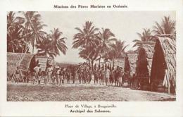 Pays Div -ref U641- Missions Des Peres Maristes En Oceanie - Bougainville - Archipel Des Salomon - - Solomon Islands