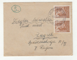 Yugoslavia, Letter Cover Travelled 1948 Selce Hrvatsko Pmk B190922 - 1945-1992 Socialist Federal Republic Of Yugoslavia