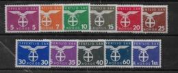 Serie De Noruega Nº Yvert S-41/51 ** - Officials