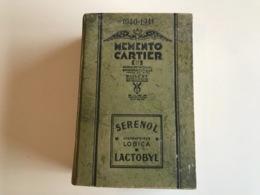 Memento CARTIER 1940-1941 SUD EST - Region Lyonnaise & Cote Méditerranéenne - Santé