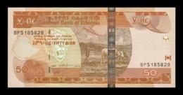 Etiopia Ethiopia 50 Birr 2015 Pick 51g SC UNC - Ethiopië