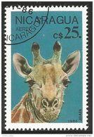 684 Nicaragua Giraffe Girafe (NIC-352) - Giraffe