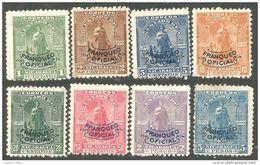 684 Nicaragua 1899 Officials (NIC-390) - Nicaragua
