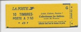 Carnet N°2715-C3 Avec Variété D'impression Sur La Couverture, Neuf, TB, Voir Photo - Carnets