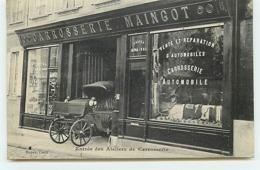 BAYEUX - Entrée Des Ateliers De Carrosserie  Maingot - Bayeux