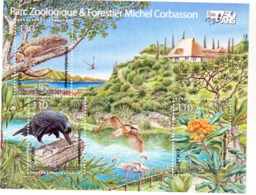 Nouvelle Calédonie 1161 F Parc Zoologique Et Forestier Neuf * * TB  MNH Valeur Faciale 2.77 - Unused Stamps
