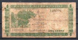 329-Sierre Leone Billet De 1 Leone 1970 A9 - Sierra Leone