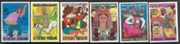 Tunisia 1972  Sc#586-91  Set  MNH   2016 Scott Value $3.80 - Tunesien (1956-...)
