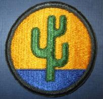 Patch US 103rd Division - Blazoenen (textiel)