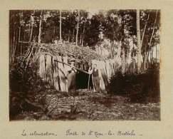 031019F - PHOTO 1900 - 78 SAINT NOM LA BRETECHE Forêt La Bretèche La Colonisation - Bois Cabane - St. Nom La Breteche