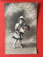 1911 - KINDJE MET BLOEMEN - ENFANT ET FLEURS - Ritratti
