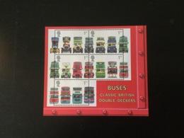 GB 2001 Double Decker Buses M/S MUH  Sg MS2215 - Blocks & Miniature Sheets