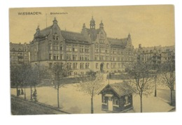 CPA ALLEMAGNE WIESBADEN BLUCHERSCHULE - Allemagne