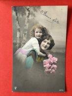1912 - BONNE FETE - MOEDER EN DOCHTER - MAMAN ET FILLETTE - Compleanni
