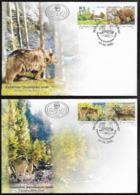 Yugoslavia, Fauna, Protected Animal Species, 2006, FDC - Francobolli
