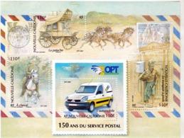 Nouvelle Calédonie BF 41 150ème Anniversaire Du Service Postal Neuf * * TB  MNH Valeur Faciale 3.7 - Blocks & Kleinbögen