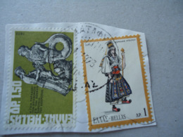 GREECE  USED  STAMPS  WITH POSTMARK  ΜΑΤΑΦΥΤΟΙΣ ΝΑΥΠΑΚΤΙΑΣ - Affrancature Meccaniche Rosse (EMA)