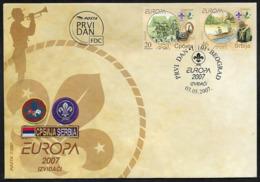 Serbia Europa 2007, FDC - 2007