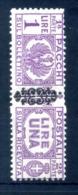 1945 LUOGOTENENZA PACCHI POSTALI N.54 MNH ** - 5. 1944-46 Lieutenance & Umberto II