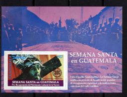 Guatemala ** Bloc N° 19 - Semaine Sainte - Guatemala