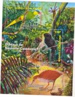 Nouvelle Calédonie BF 36 Oiseaux Neuf * * TB  MNH Valeur Faciale 2.77 - Blocks & Kleinbögen