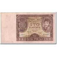 Billet, Pologne, 100 Zlotych, 1932, 1932-06-02, KM:74a, TTB - Pologne
