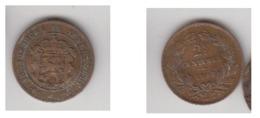 2,5 CENTIMES 1908 - Luxemburgo