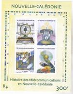 Nouvelle Calédonie BF 38 Histoire Des Télécomm En Nouvelle Calédonie Neuf * * TB  MNH Valeur Faciale 2.5 - Blocks & Kleinbögen