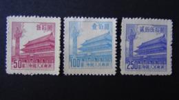 China - 1954 - Mi:CN 230,231,233 Sn:CN 206,207,209 Yt:CN 1008,1009,1111* - Look Scan - Ungebraucht