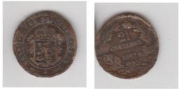 2,5 CENTIMES 1901 - Luxemburgo