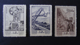 China - 1954 - Mi:CN 241,243,245* - Look Scan - Ungebraucht