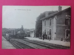 CHENU- La Gare - France