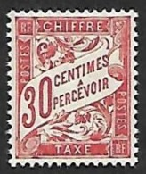 TAXE   33  - NEUF** - 1859-1955 Usati