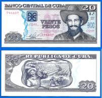 Cuba 20 Pesos 2015 UNC Que Prix + Port Maximo Gomez Peso Centavos Centavo Caraibe Paypal Bitcoin OK - Cuba