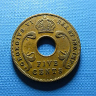 East Africa 5 Cents 1942 - British Colony