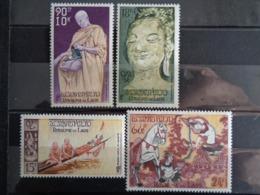 LAOS P.A. 1957 Y&T N° 27 à 30 ** - CULTE DU BOUDDHA - Laos