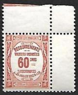 TAXE   48  - NEUF** Coin De Feuille - Portomarken