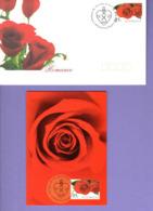 """"""" SAINT VALENTIN / COEUR / AMOUR / LOVE """" Sur Enveloppe Et PAP D'AUSTRALIE. Parfait état - FDC"""