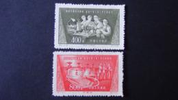 China - 1954 - Mi:CN 259,260 Sn:CN 235,236 Yt:CN 1030,1031* - Look Scan - Ungebraucht