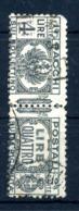 1927-32 REGNO PACCHI POSTALI N.33 USATO - 1900-44 Vittorio Emanuele III
